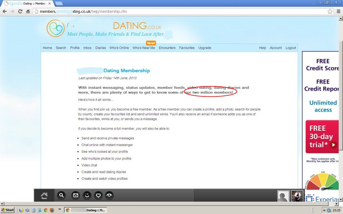 Online dating under 20